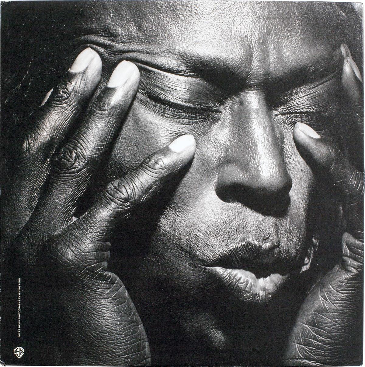Miles Davis, Tutu, Warner Bros. Records, 1986. Fotó © Irving Penn