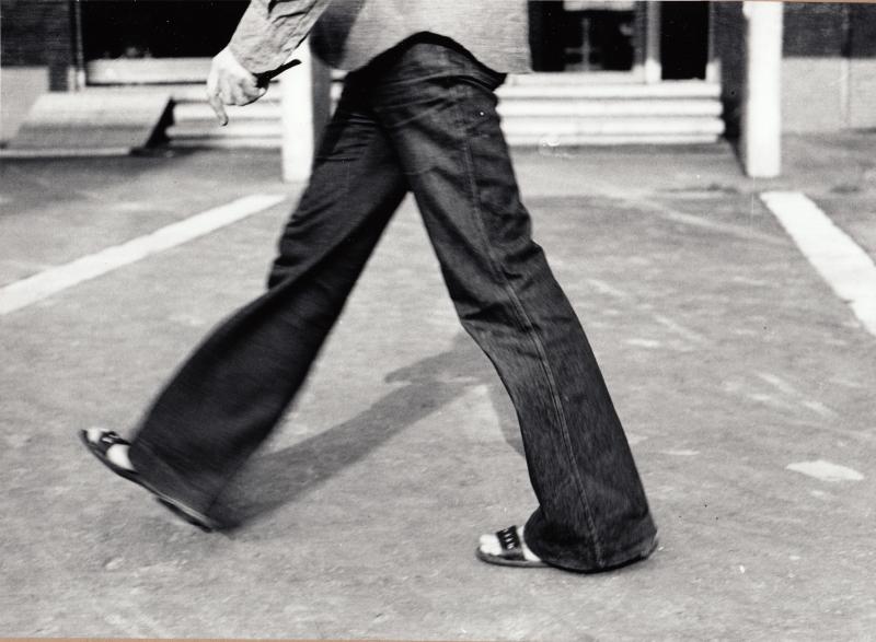 Tót Endre: Örülök, ha egyet léphetek (I am glad if I can make one step), 1971-1976/2015