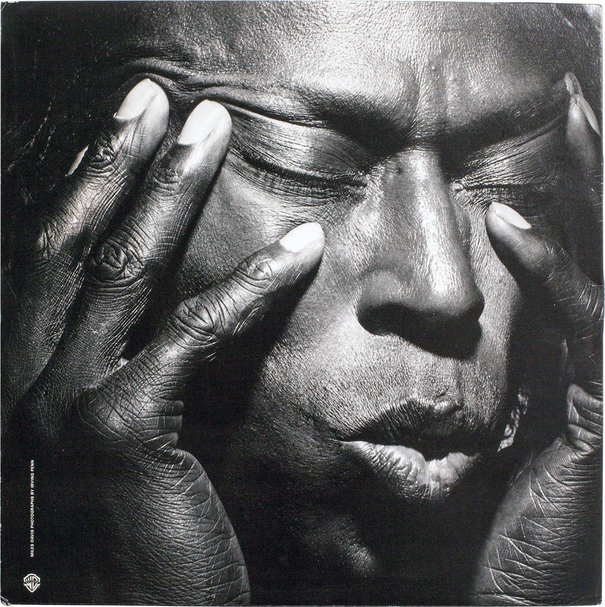 Miles Davis, Tutu, Warner Bros. Records, 1986. Fotó © Irving Penn