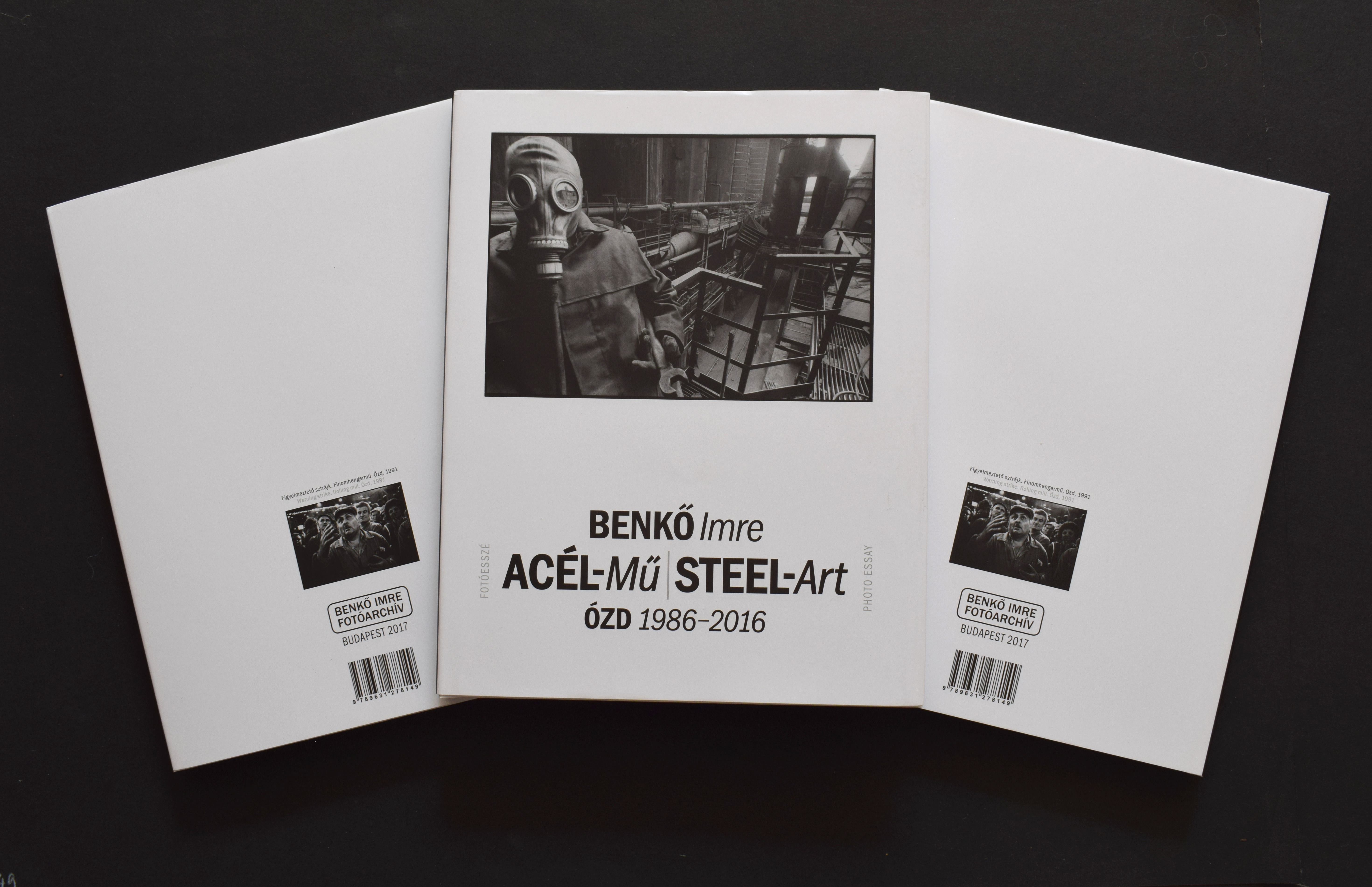 Könyvbemutató – Benkő Imre: ACÉL-Mű / STEEL-Art  ÓZD, 1986-2016