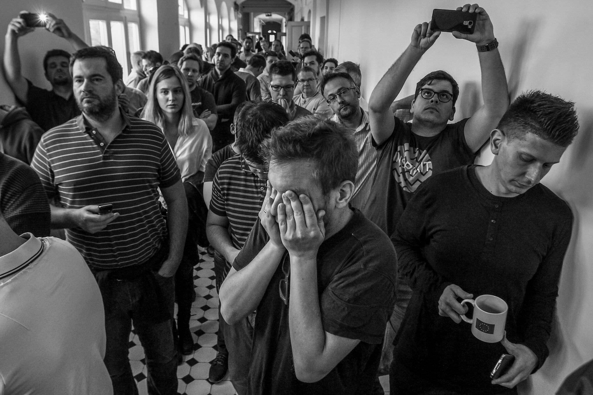 Képriport 2. díj: Balogh Dávid (szabadfoglalkozású): Magyar Nemzet utolsó napja