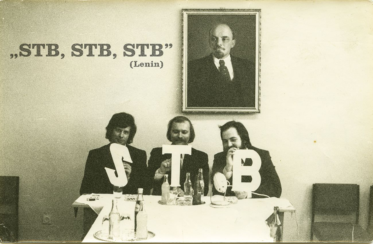 © Balla András: STB, STB, STB | Tatabánya, 1973