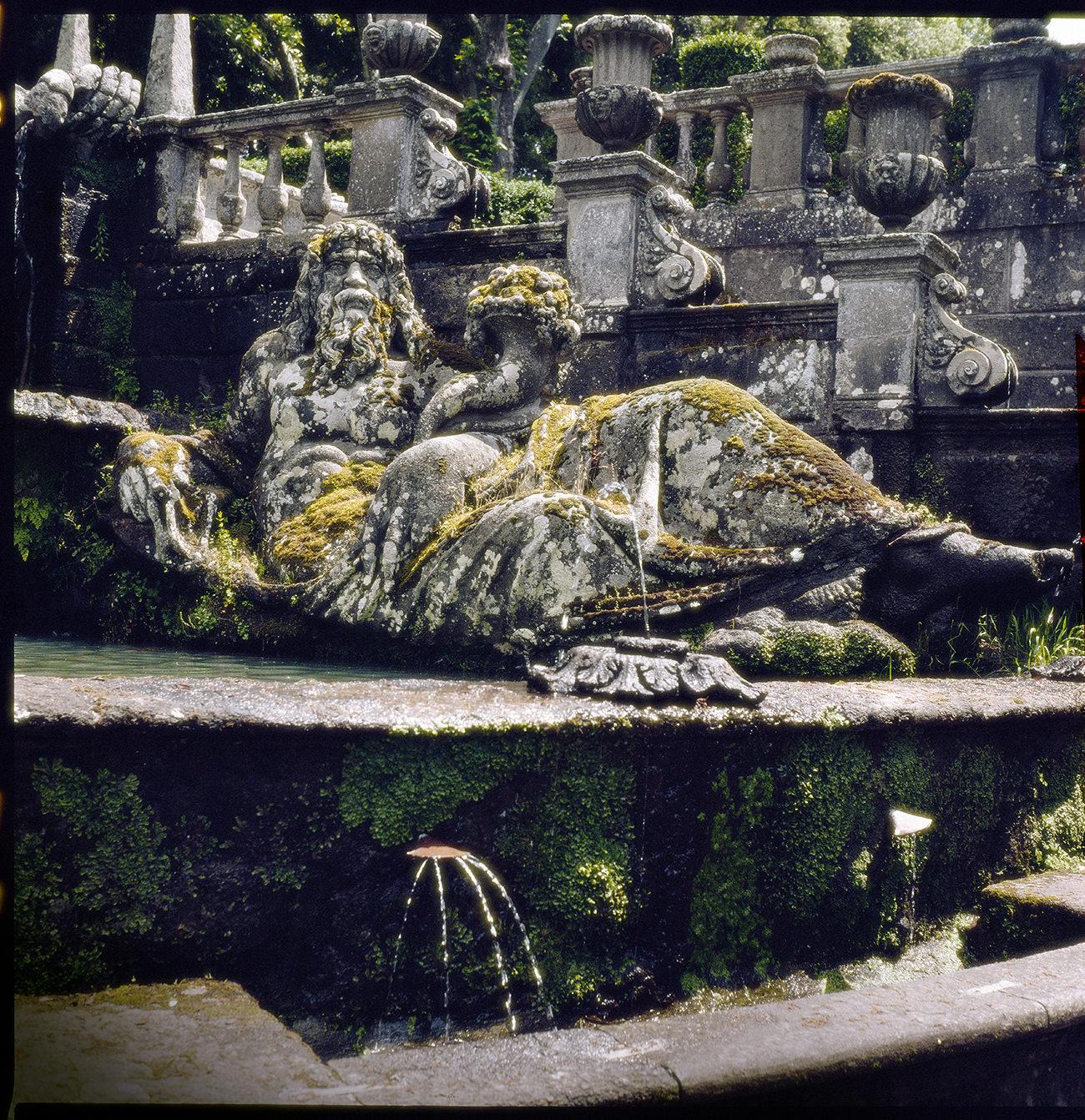 © Balla András: Neptunusz | Bomarzo, Olaszország, 1988