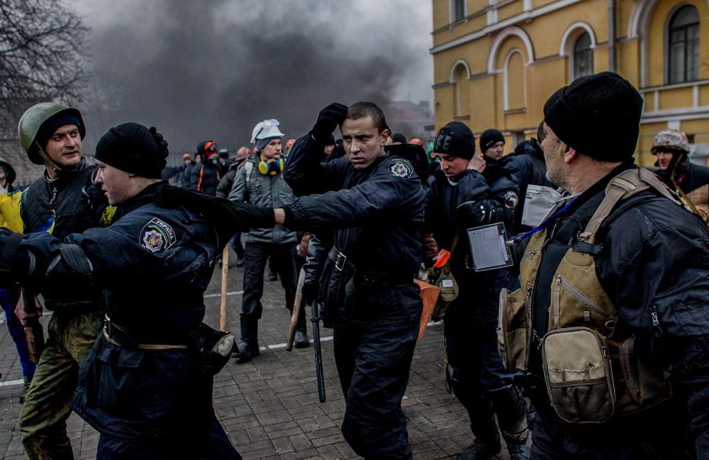 Kijev, Ukrajna, 2014. február 20. Fotó: Csudai Sándor
