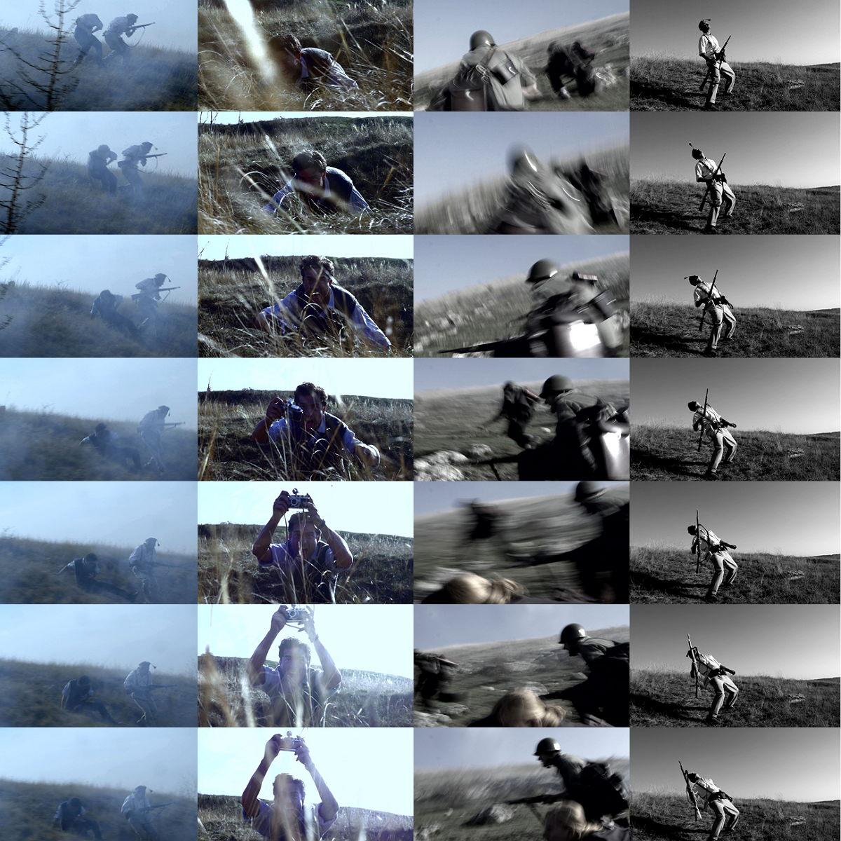 Film: Sopsits Árpád, A milicista halála – variációk és vázlatok Robert Capa képeire