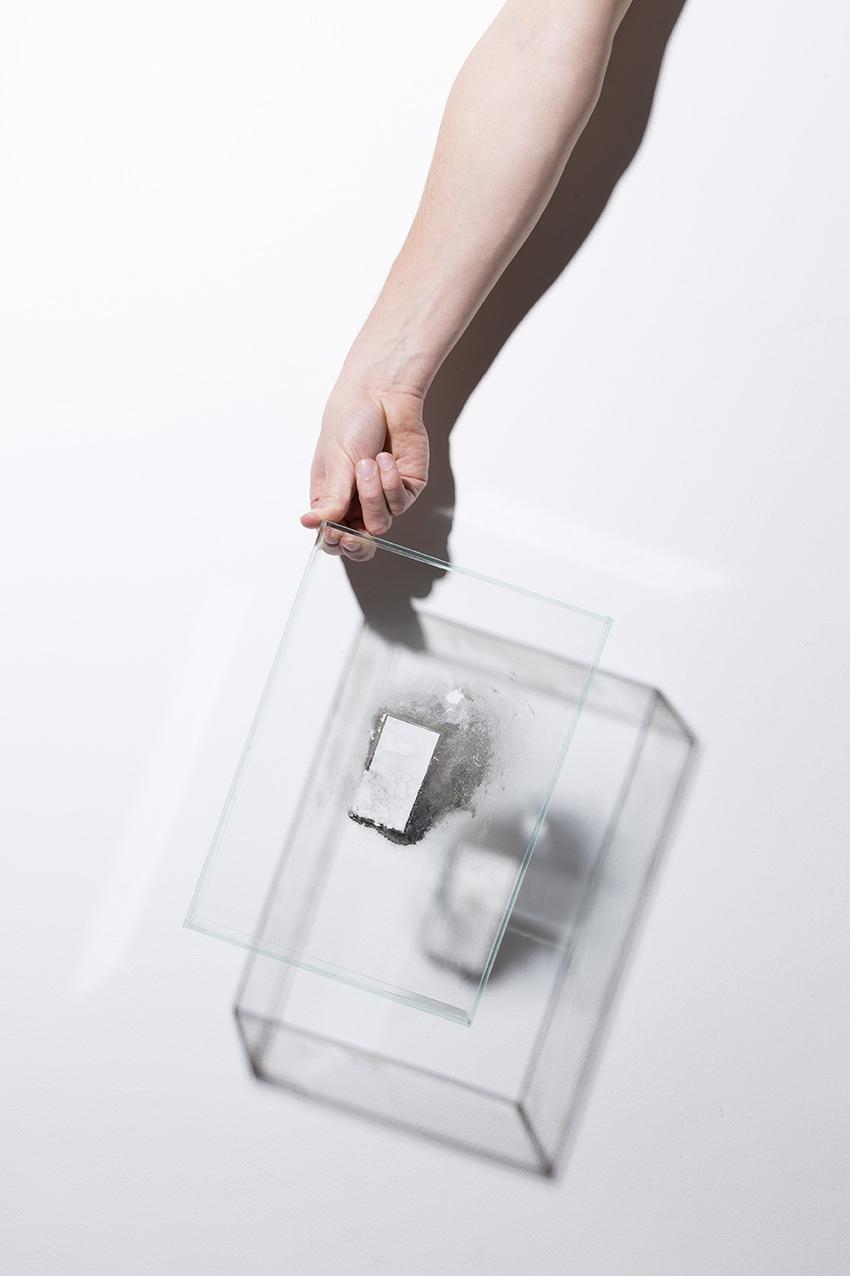 Dobokay Máté: Silver on Glass, 2019 © Dobokay Máté