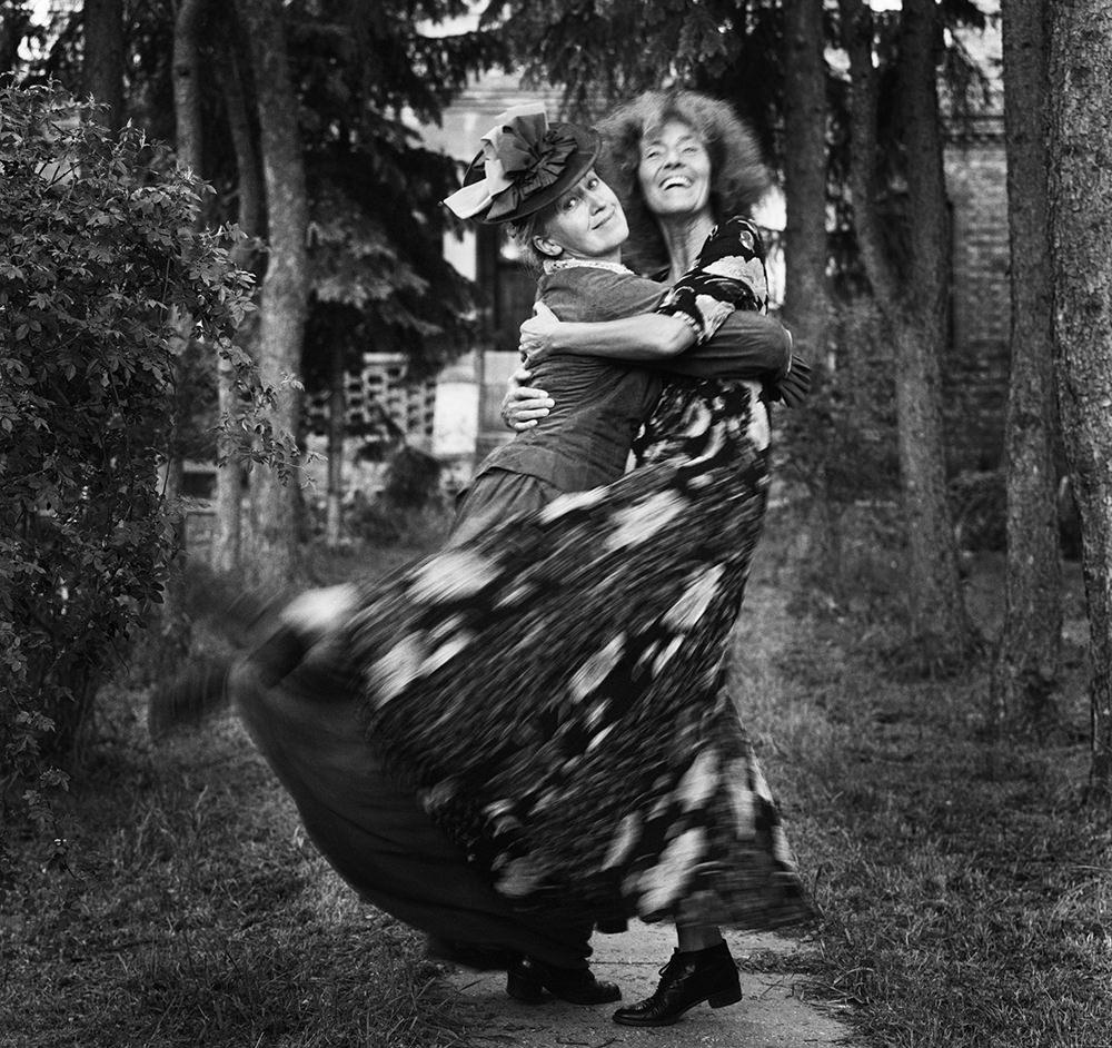 Baricz Kati: Erzsi és én, Csillaghegy, 2004
