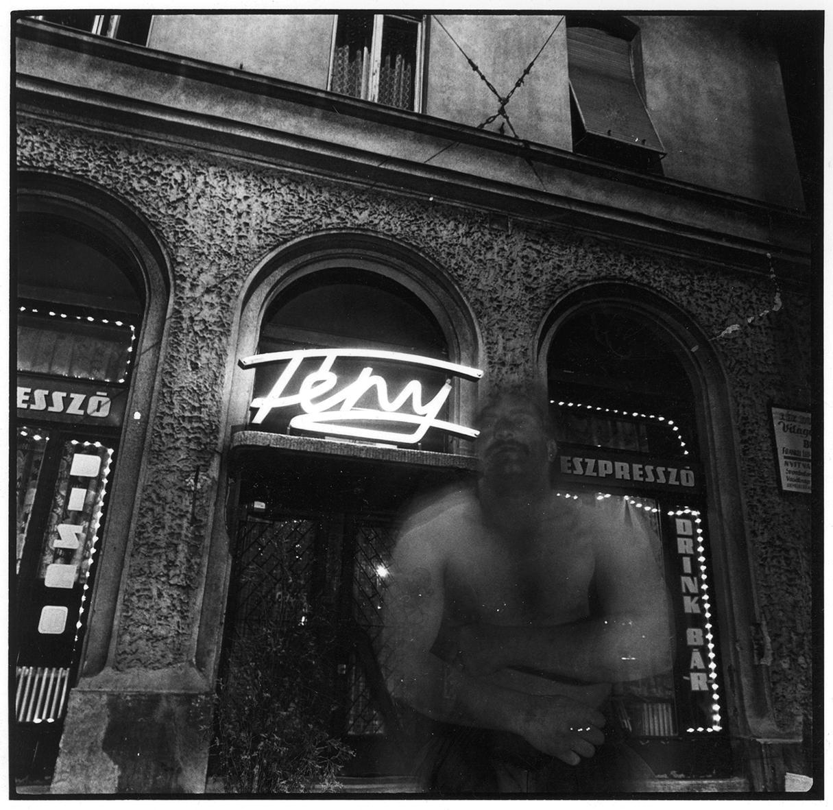 Drégely Imre: Fény, 1989 © Drégely Imre