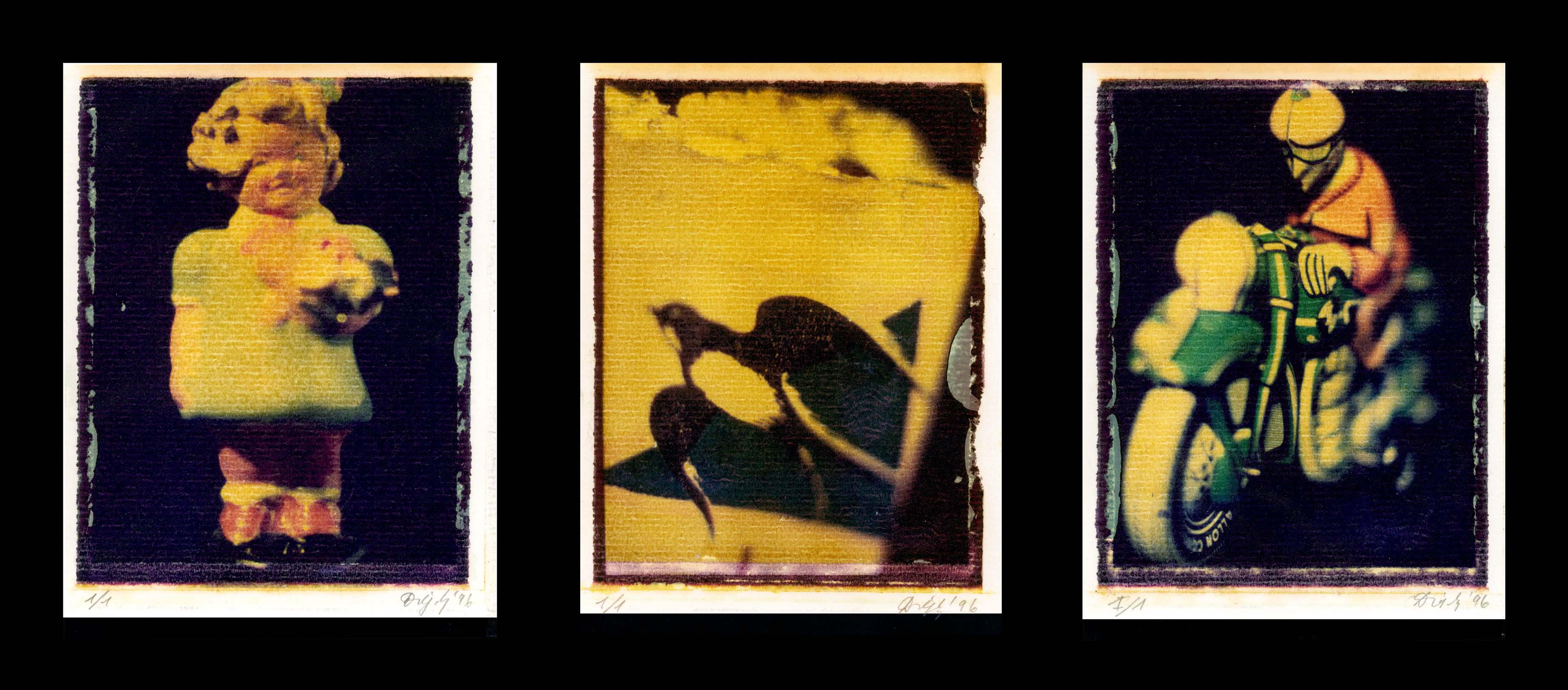 Drégely Imre: Utazás 1–3., 1996 © Drégely Imre