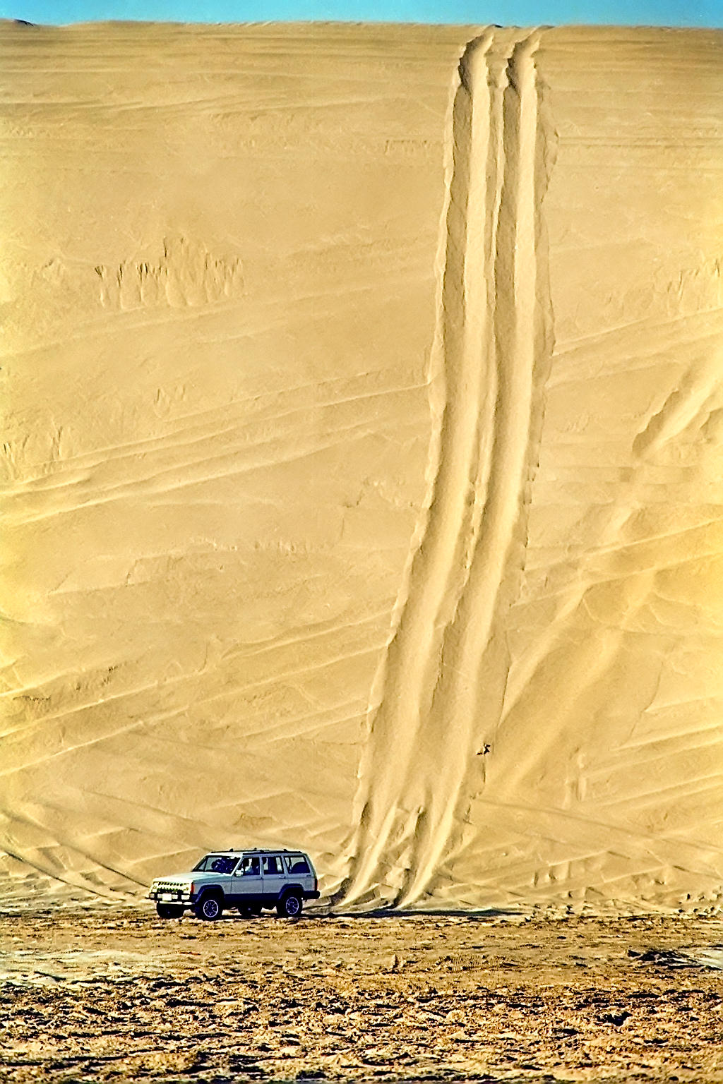 Felvégi Andrea: Arab világ, Katar, 1989 © Felvégi Andrea
