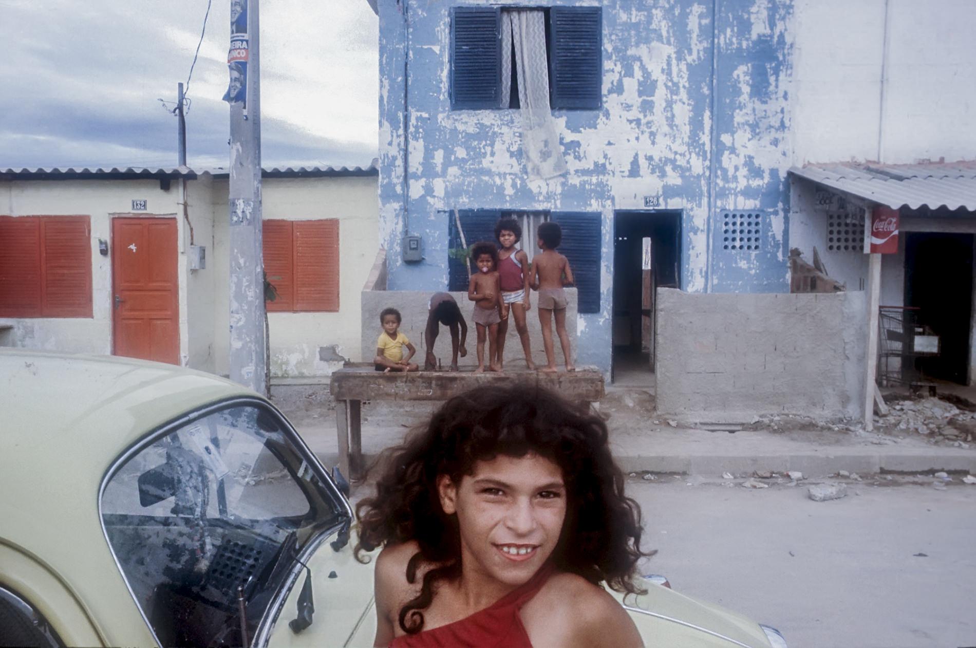 Felvégi Andrea: Rio, Favella, 1983 © Felvégi Andrea