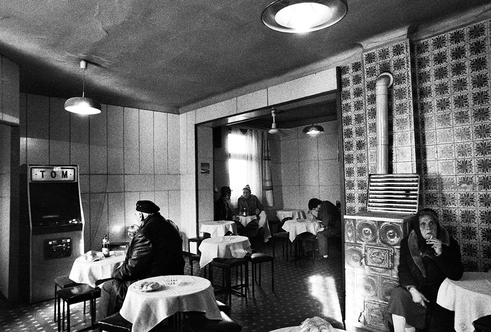 Frankl Aliona: Oázis Presszó, Kispest, 1996 © Frankl Aliona