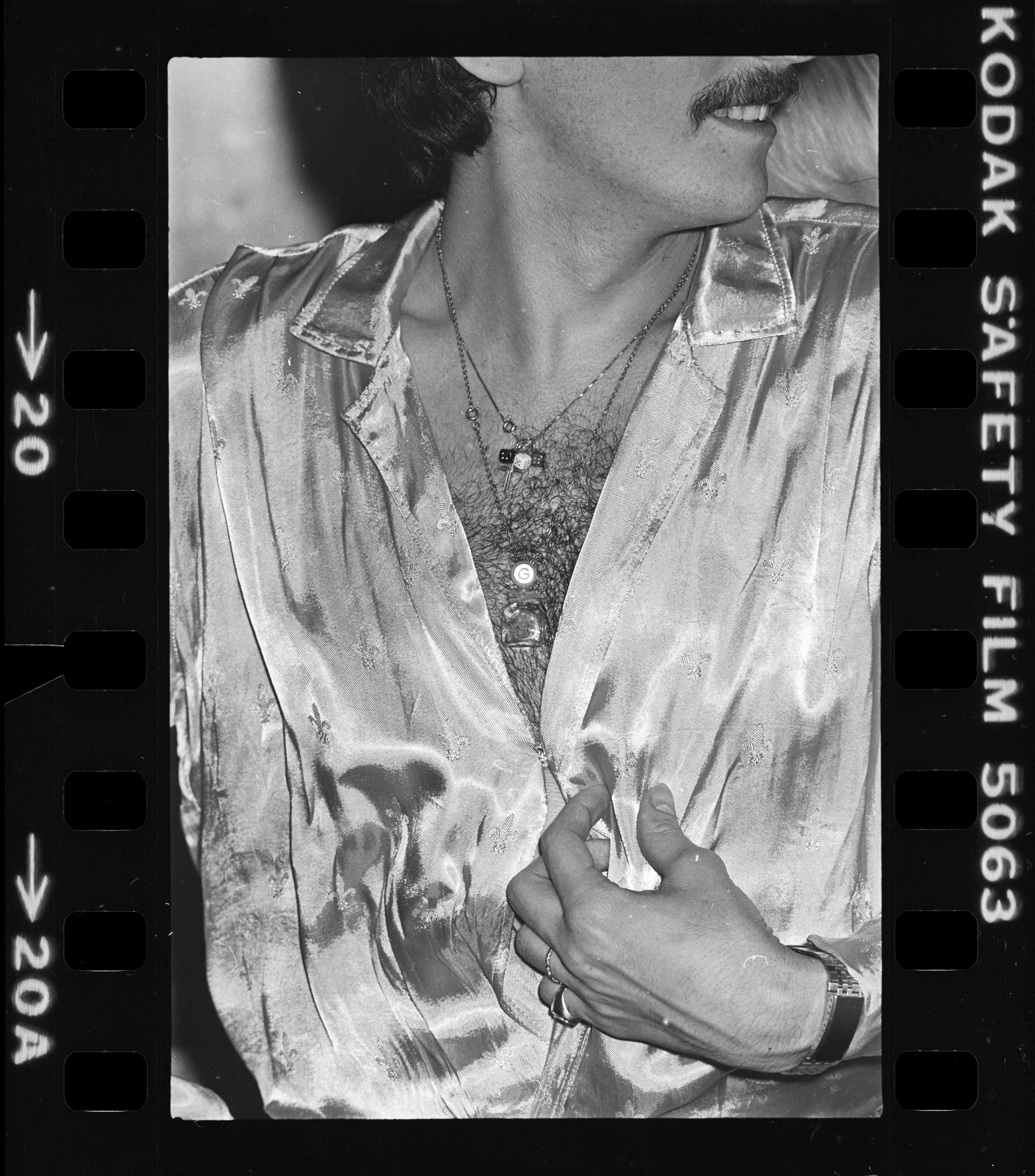 Kiss-Kuntler Árpád: Disco (részlet a sorozatból ), 1982–1985 © Kiss-Kuntler Árpád
