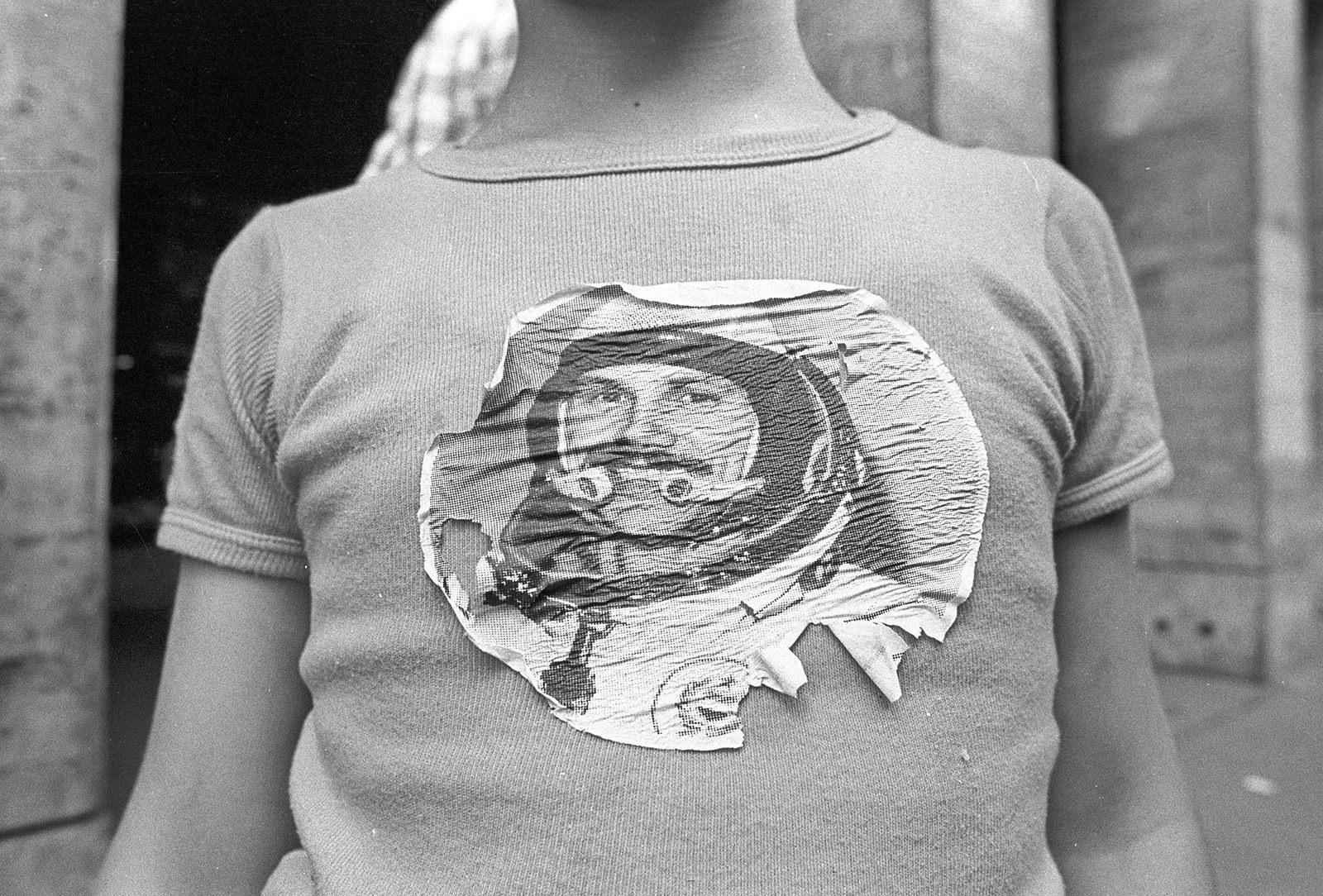 Kiss-Kuntler Árpád: Berci, az első magyar űrhajós (részlet a sorozatból), 1980 © Kiss-Kuntler Árpád