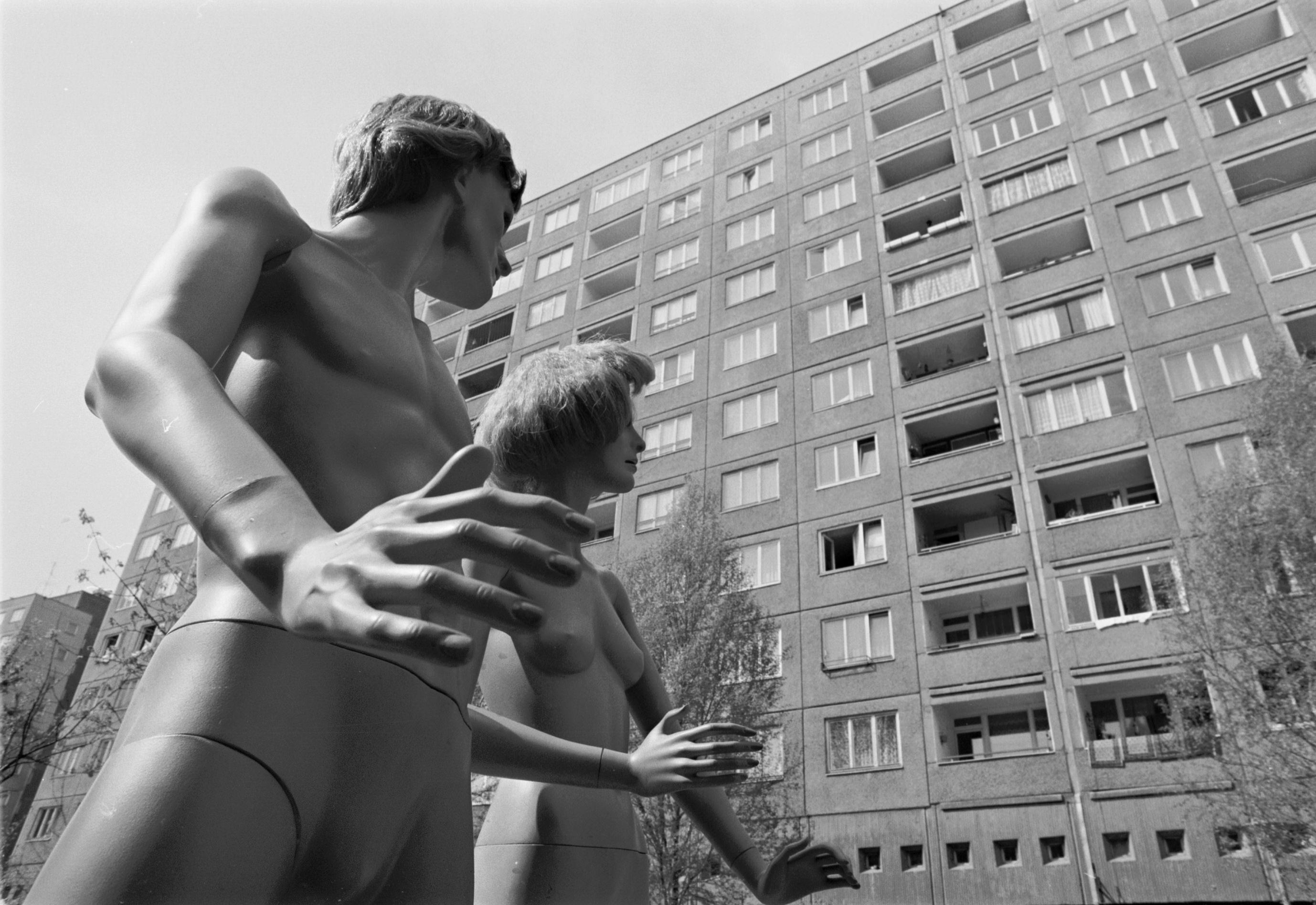 Kiss-Kuntler Árpád: Lakógép (részlet a sorozatból), Batha Lászlóval közösen, 1984 © Kiss-Kuntler Árpád