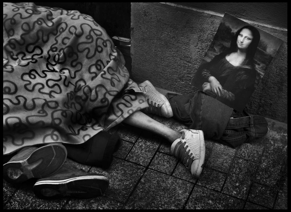 Pataky Zsolt: Mona Lisa, Budapest, 2017 © Pataky Zsolt