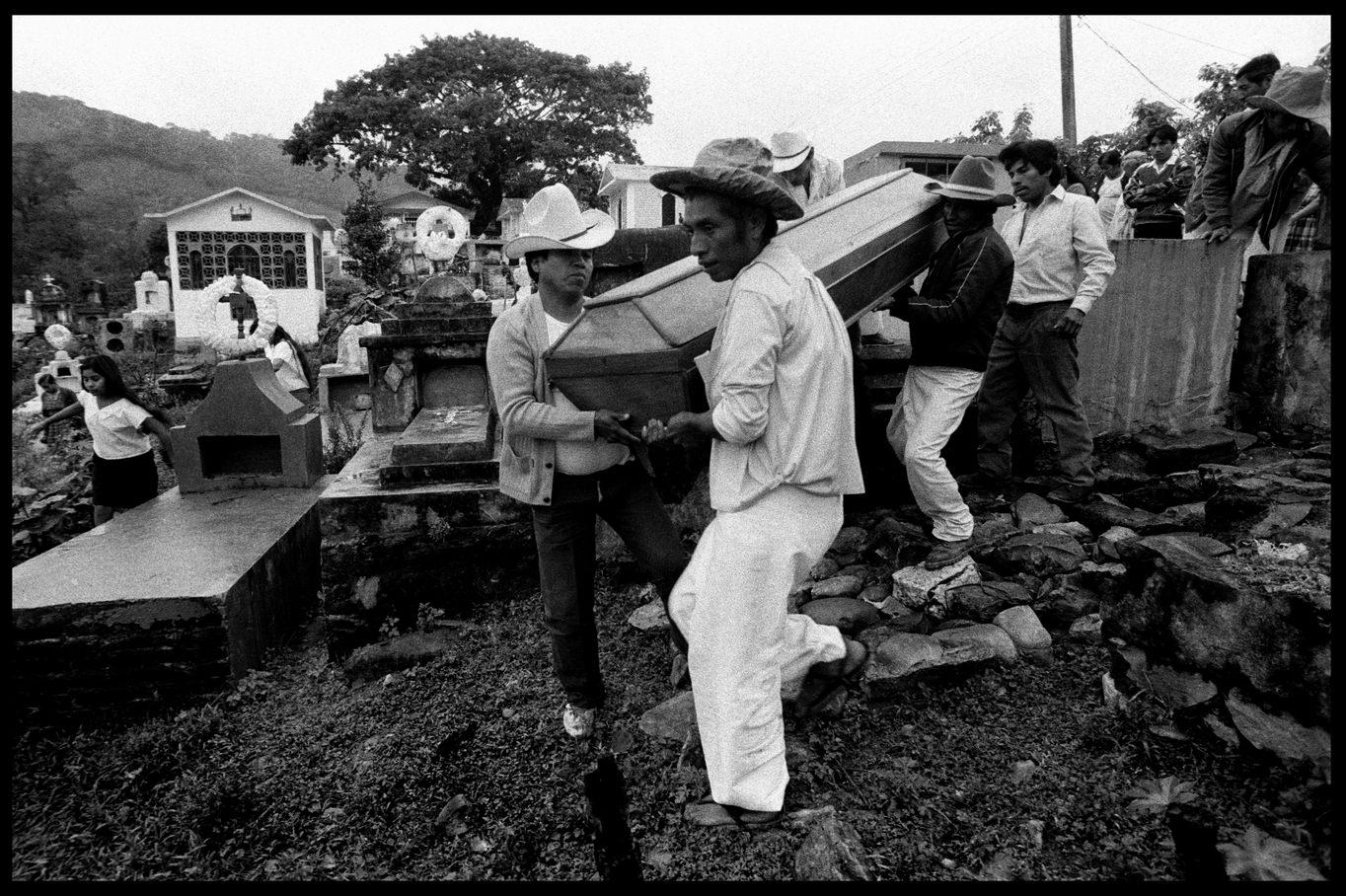 Pataky Zsolt: Totonac indiánok, 1991 © Pataky Zsolt