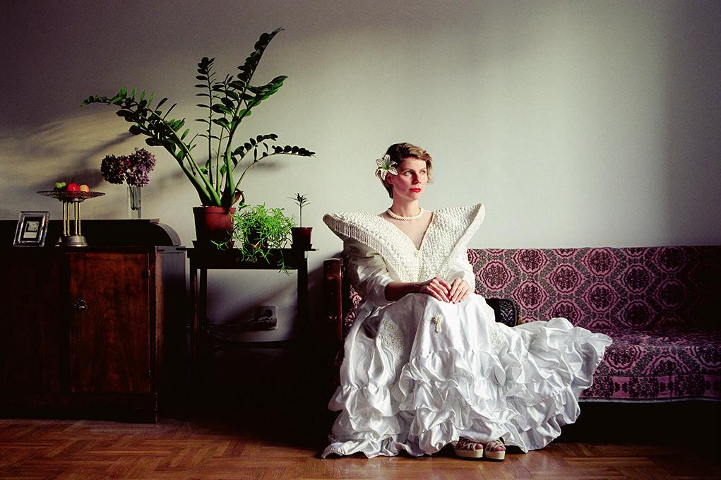 Szabó Benke Róbert: Hajadonok, P. Zsuzsanna Rebeka, 2004-2005 © Szabó Benke Róbert