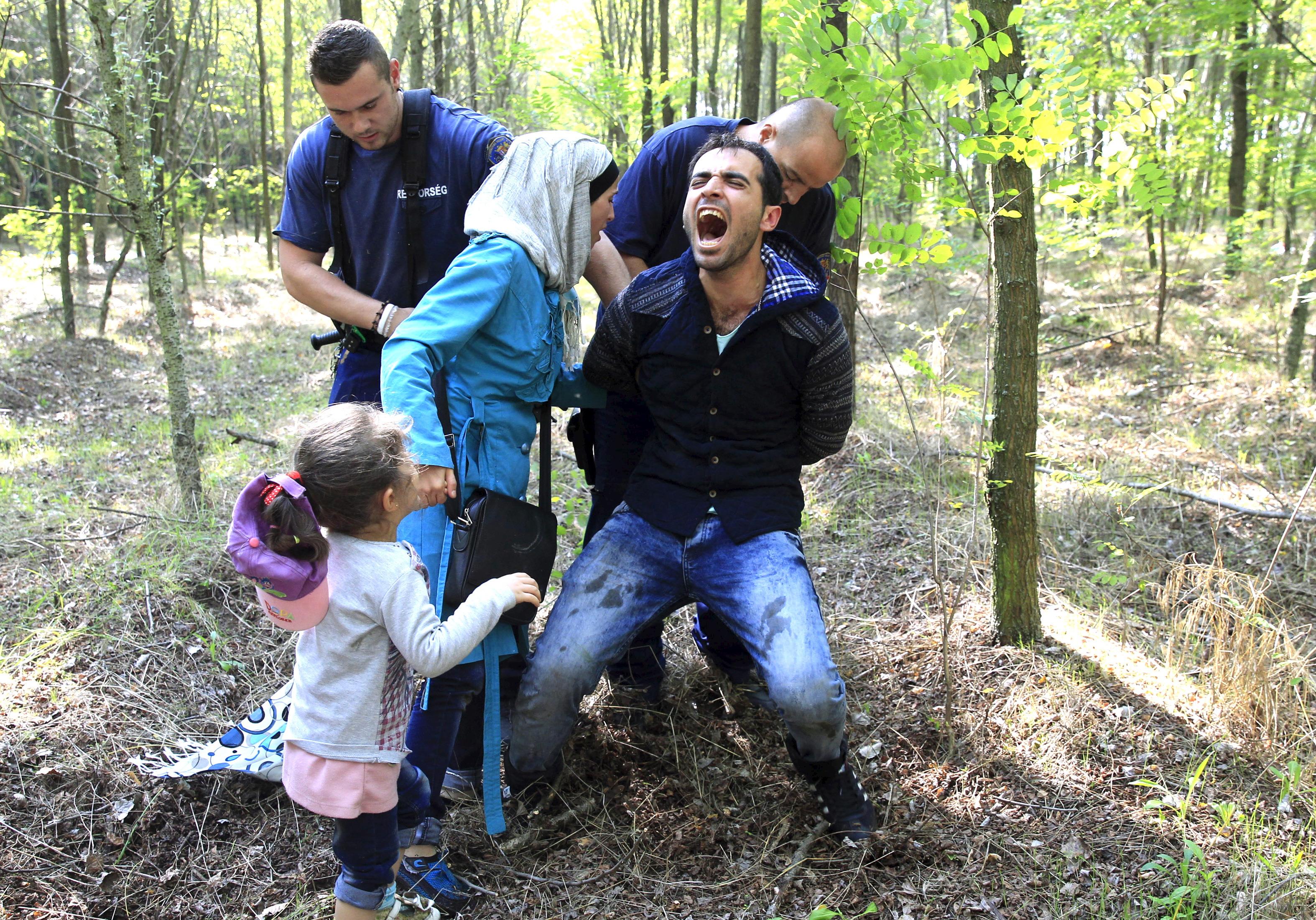Szabó Bernadett: Menekültek a szerb-magyar határon, 2015 © Szabó Bernadett/Reuters