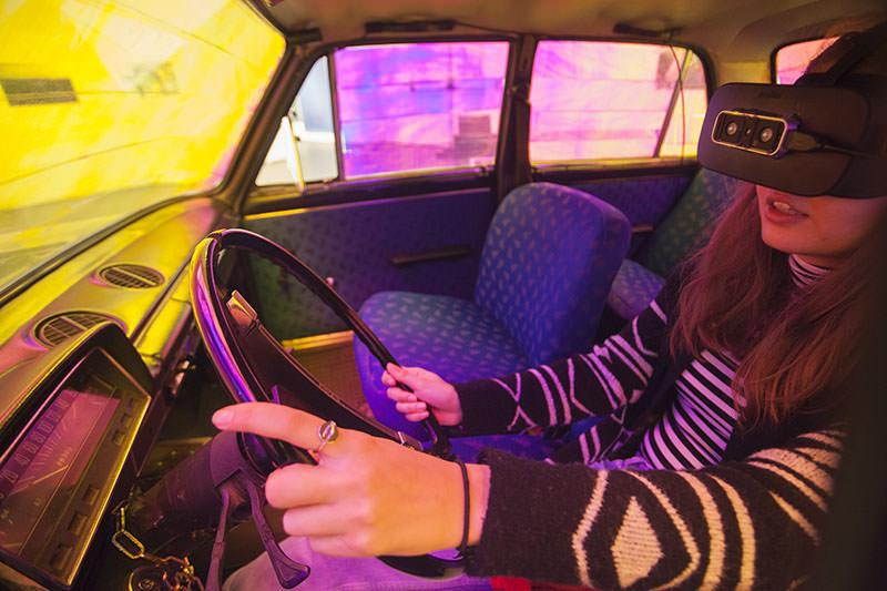 Kocsi Olga: VR Lada © Kocsi Olga