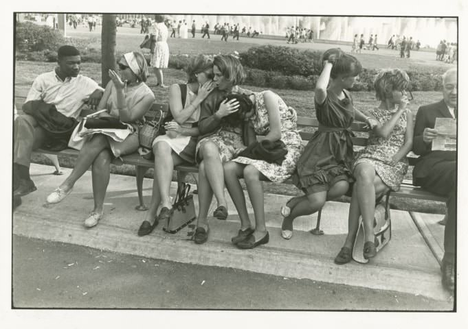 Garry Winogrand: Világkiállítás I World's Fair, New York, 1964 © Garry Winogrand