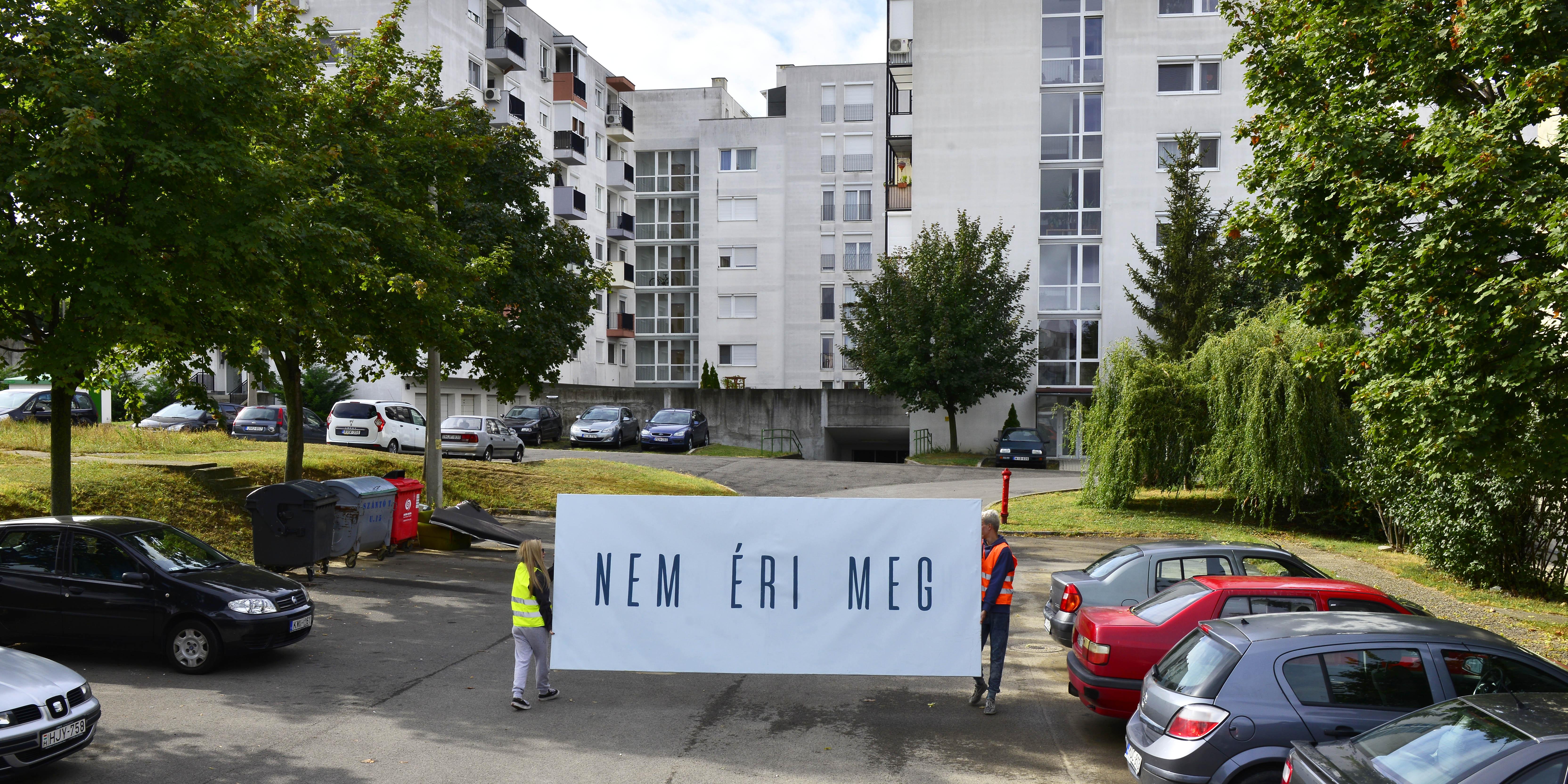 Gyenis Tibor: Személyes döntés, 2020, werk-képek © Gyenis Tibor