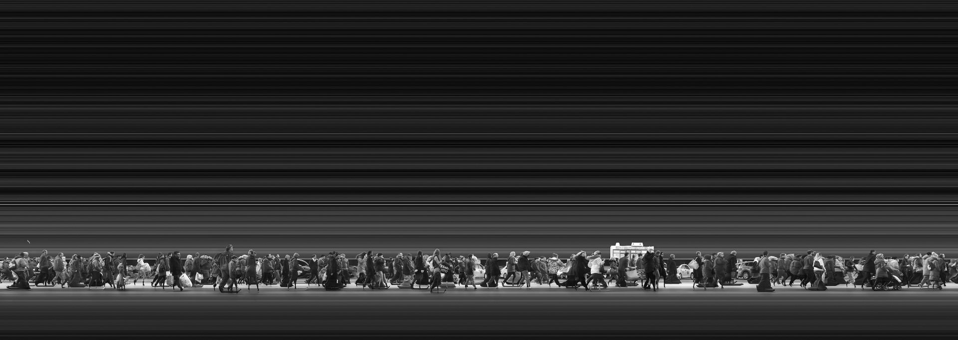 Magyar Ádám, Urban Flow 1837 (New York) (Urban Flow sorozat) I Urban Flow 1837 (New York) (Urban Flow series), 2015 © Magyar Ádám/ Courtesy of Faur Zsófi Galéria