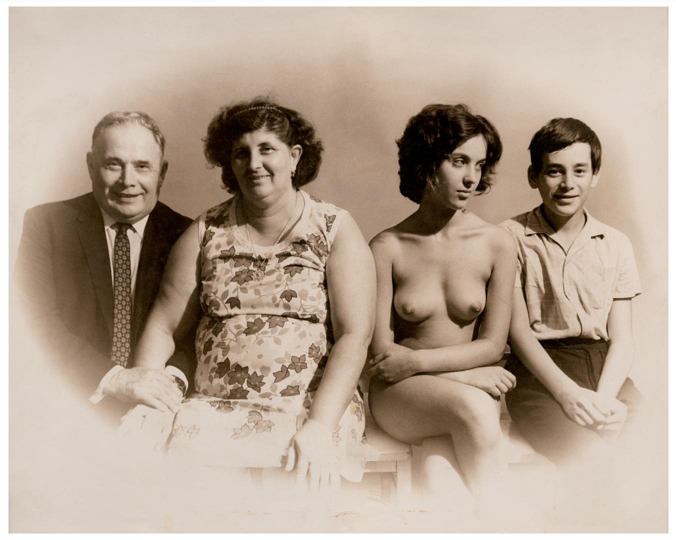 Török László, A család I Family, 1972 © Török László