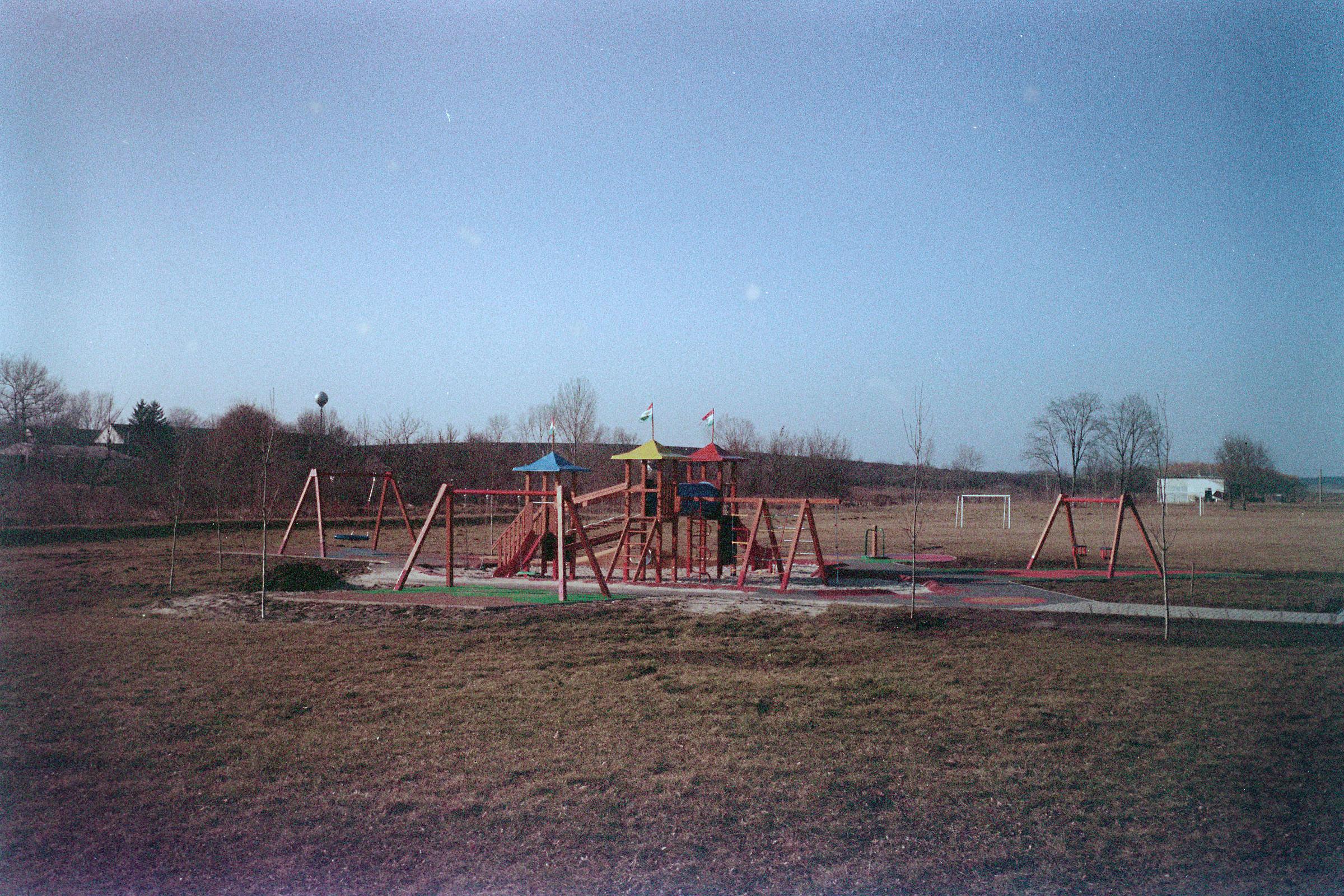 Magócsi Márton: Nagykónyi, játszótér | Nagykónyi, Playground, 2016
