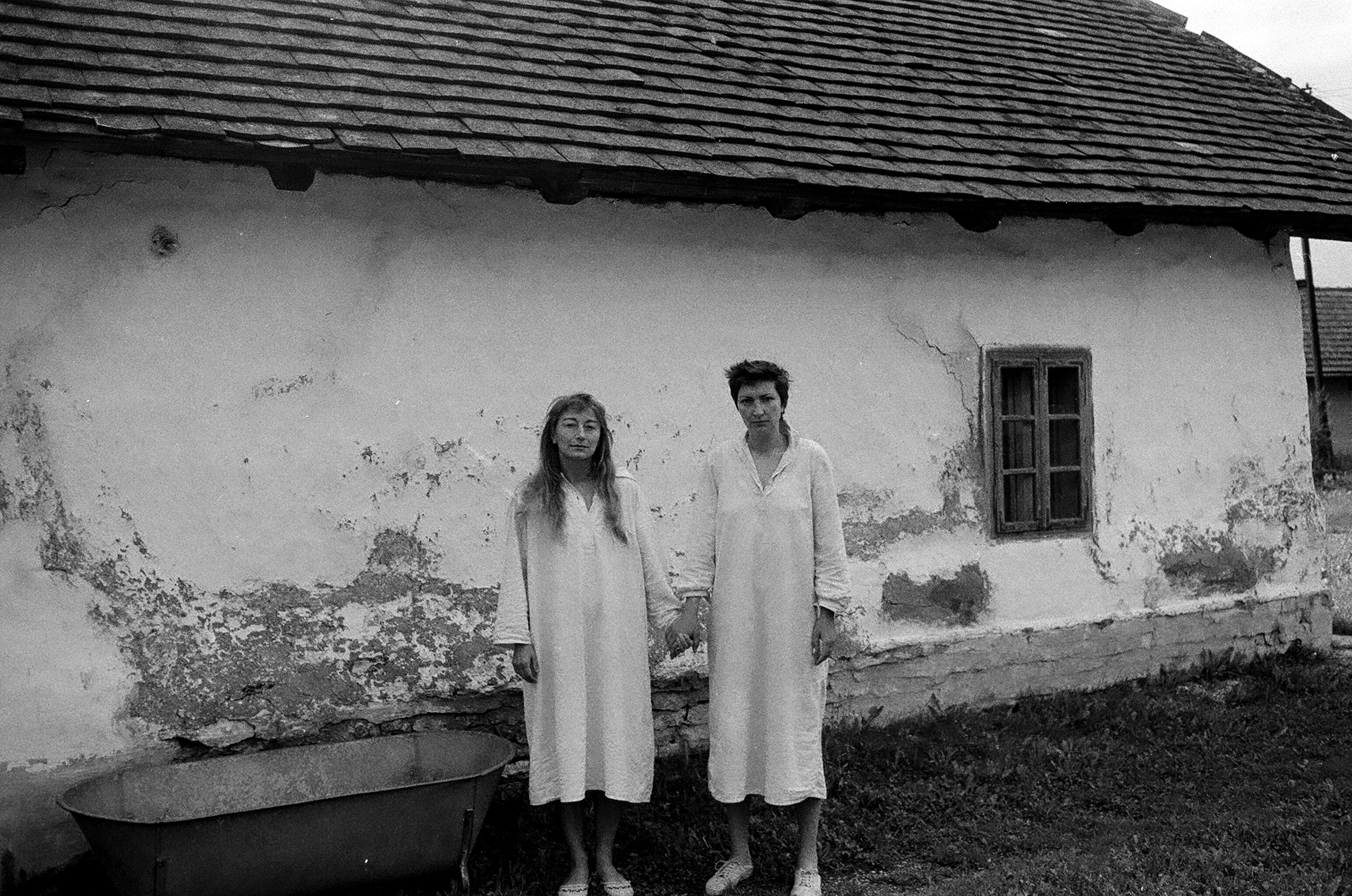 Nyilas Ilona: Barátnők, Őriszentpéter, 1984 © Nyilas Ilona