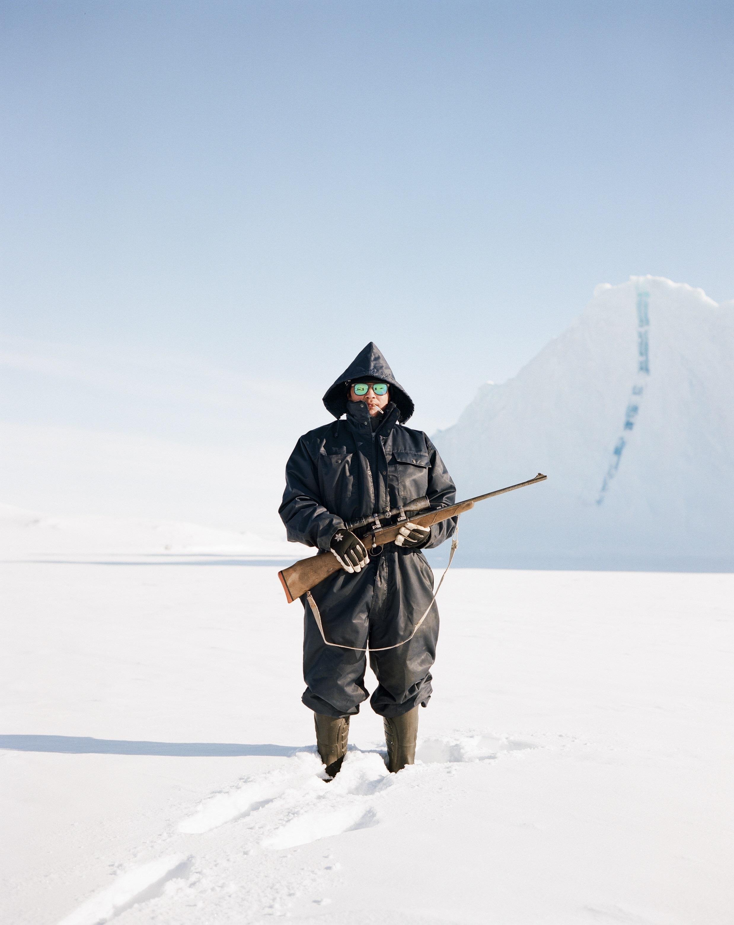 Michael Novotny: Az eszkimó férfi, Ittoqqortoormiit, Északkelet-Grönland © Michael Novotny/Portrait of Humanity