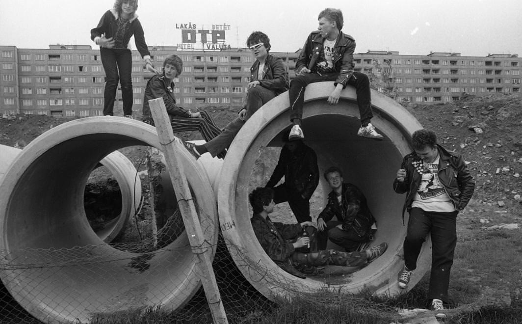 Urbán Tamás: Flórián tér-1982 © Urbán Tamás/Fortepan